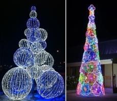 Уличная светодиодная елка (LED)